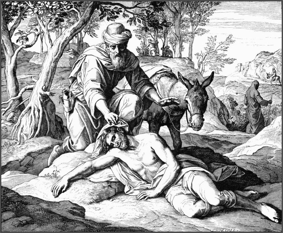 этого евангельская притча о добром самарянине картинки должны
